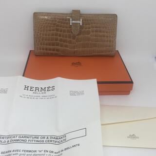 Hermes -  HERMESベアンクロコダイル16pダイヤ