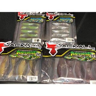 ジャッカル(JACKALL)のジャッカル デッドフィンダーター 4袋セットNo.2(ルアー用品)