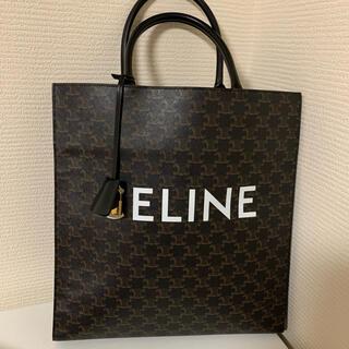 celine - CELINE カバ トリオンフ/コーティングキャンバス/トートバッグ