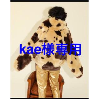 シールームリン(SeaRoomlynn)のSeaRoomlynn cow柄エコファーショートカラーファーコート(毛皮/ファーコート)
