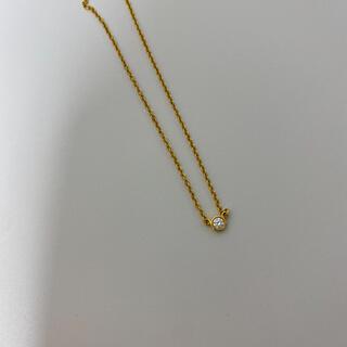 Tiffany & Co. - Tiffany& Co. K18YG バイザヤード ダイヤモンド ネックレス