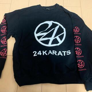トゥエンティーフォーカラッツ(24karats)のトレーナー(トレーナー/スウェット)