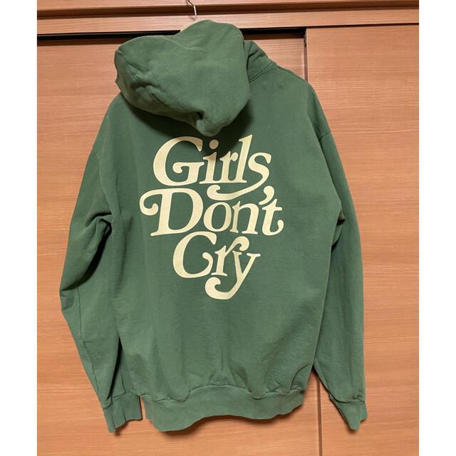 GDC(ジーディーシー)のgirls don't cry Hoodie メンズのトップス(パーカー)の商品写真