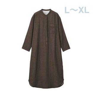 ムジルシリョウヒン(MUJI (無印良品))の無印良品   インド綿 四重ガ-ゼクルタネルクルタ  婦人・L~XL 2点(パジャマ)