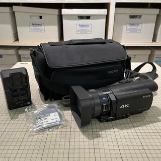 SONY - ソニー FDR-AX100 ビデオカメラ 専用バッグ付