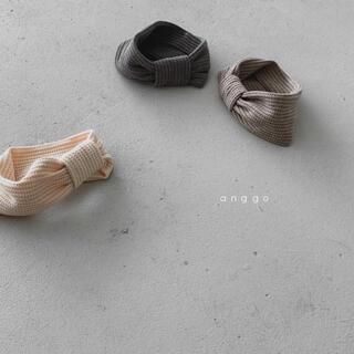 anngo リボンヘアバンド 韓国子供服(その他)