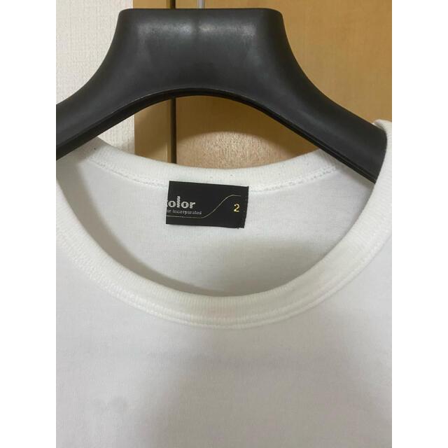 kolor(カラー)の[期間限定]kolor 2019年 pop up 限定Tシャツ メンズのトップス(Tシャツ/カットソー(半袖/袖なし))の商品写真
