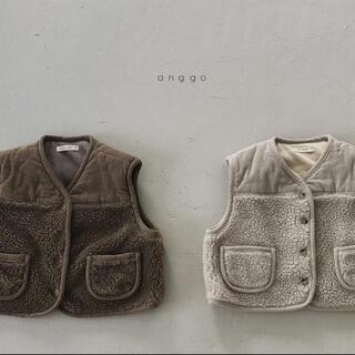 anngo dotベスト 韓国子供服(ジャケット/上着)