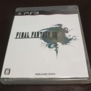 スクウェアエニックス(SQUARE ENIX)のファイナルファンタジーXIII PS3(その他)