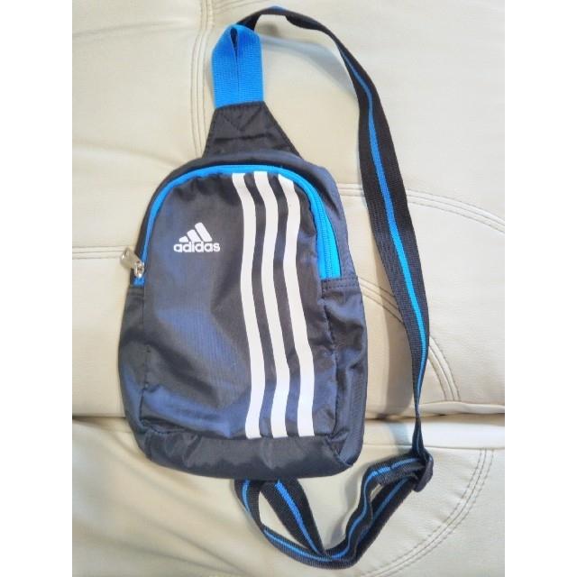 adidas(アディダス)のadidas アディダス ミニリュック 黒 キッズ/ベビー/マタニティのこども用バッグ(その他)の商品写真