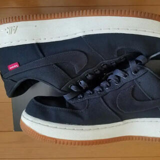 Supreme - Supreme x Nike Air Force 1 Low Black