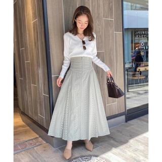 COCO DEAL - 極美品♡ココディール コットン刺繍コルセットデザインハイウエストスカート