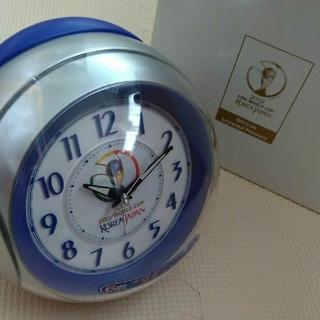 目覚まし時計 ワールドカップ 置時計 クロック メロディーアラーム