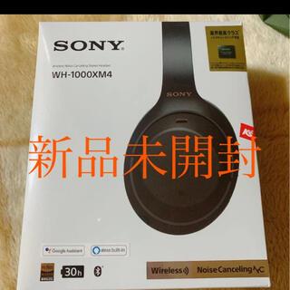 SONY - SONY 新品未開封 ワイヤレスヘッドホン WH-1000XM4 ブラック