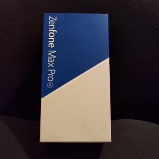 エイスース(ASUS)のASUS ZenFone Max Pro M1 ZB602KL ブルー 国内版(スマートフォン本体)