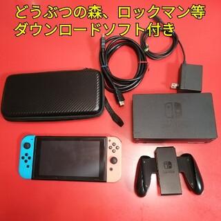 Nintendo Switch - switch どうぶつの森、ダウンロードソフト付き