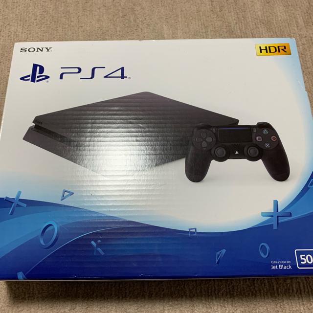 PlayStation4(プレイステーション4)のPlayStation4 本体 500GB エンタメ/ホビーのゲームソフト/ゲーム機本体(家庭用ゲーム機本体)の商品写真