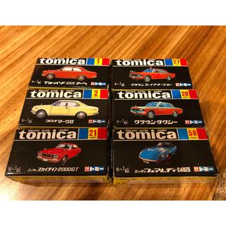 トミー(TOMMY)のトミカ 30周年 復刻版 6個セット(ミニカー)