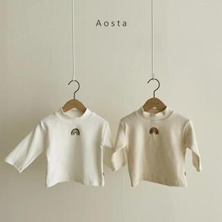 Aosta rainbowハイネックT(Tシャツ/カットソー)