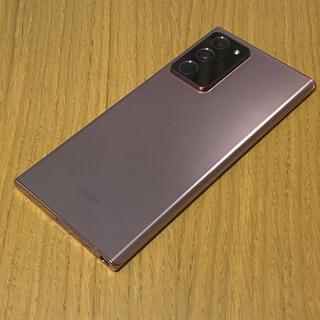 Galaxy - ジャンク品★ Galaxy Note 20 Ultra 128gb ★ ブロンズ