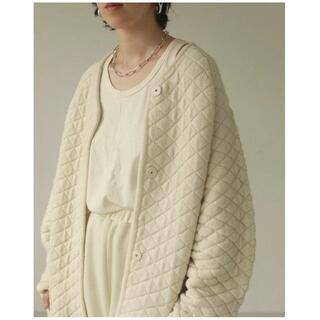 TODAYFUL - TODAYFUL Quilting Knit Coat キルティングコート