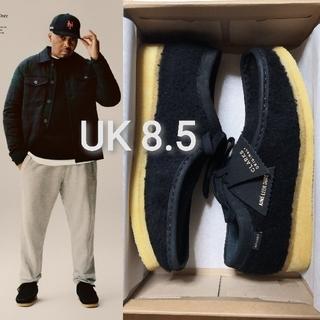 クラークス(Clarks)のAime Leon Dore クラークス ワラビー ブラック UK8.5 Nas(ブーツ)
