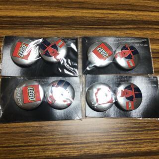 マーベル(MARVEL)の【新品】LEGO スパイダーマン 缶バッジ 4セット(バッジ/ピンバッジ)