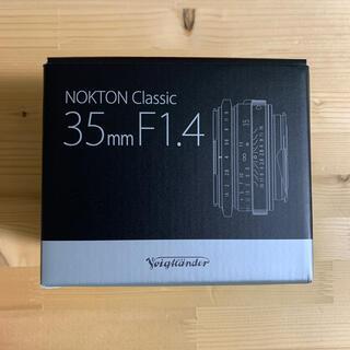 ソニー(SONY)のNokton Classic 35mm F1.4  II SC VM(レンズ(単焦点))