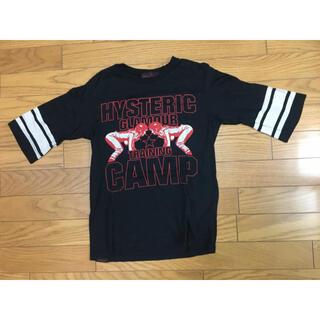 HYSTERIC GLAMOUR - 中古ヒステリックグラマー黒アメフトTシャツ
