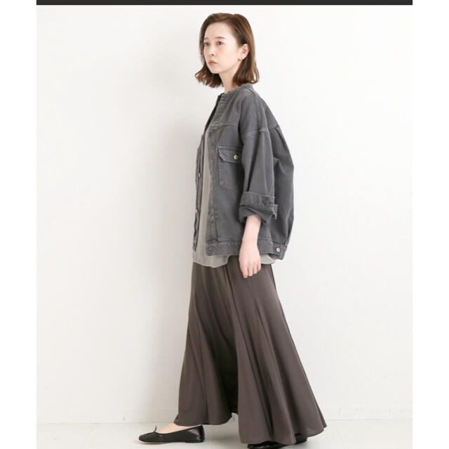 IENA(イエナ)のIENA カラー チノリメイクルーズブルゾン 36 レディースのジャケット/アウター(Gジャン/デニムジャケット)の商品写真