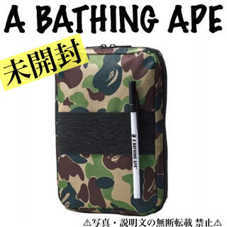 A BATHING APE - ⭐️新品⭐️【ア ベイシング エイプ】5ポケット マルチ収納ケース☆ペン付き❗️