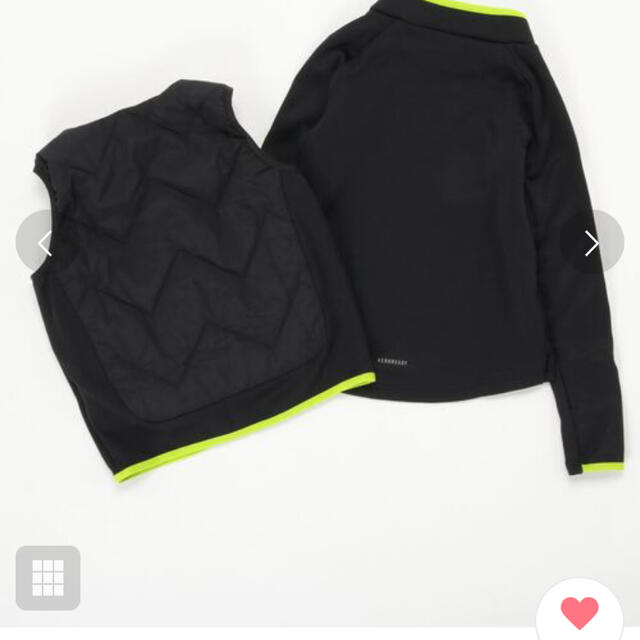 adidas(アディダス)のadidas 2-in-1 トレーニングジャケット 150センチ スポーツ/アウトドアのサッカー/フットサル(ウェア)の商品写真
