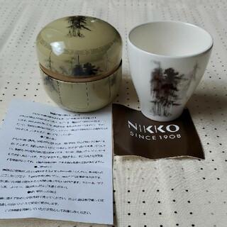 ニッコー(NIKKO)のNikko 湯呑み 茶缶 国宝 松林図屏風 長谷川等伯(食器)