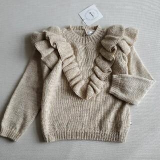 Caramel baby&child  - 6-7Y*oeuf NY ベビーアルパカニット セーター