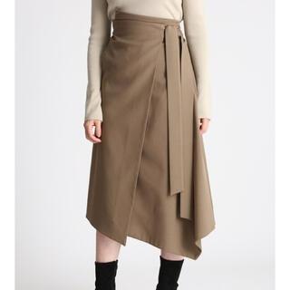 Mila Owen - ミラオーウェン ウエストリボンラップデザインスカート