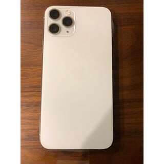 iPhone - Apple iPhone 11pro シルバー 256gb SIMフリーカバー付