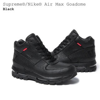 "シュプリーム(Supreme)のSUPREME × NIKE AIR MAX GOADOME ""BLACK"" 黒(スニーカー)"