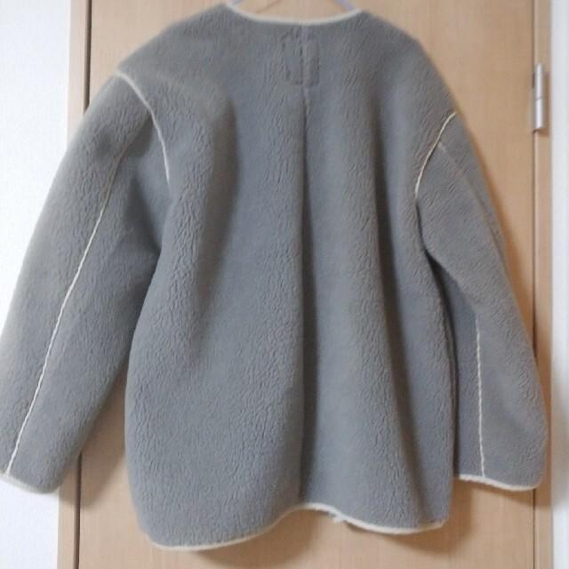 STUDIO CLIP(スタディオクリップ)のstudio CLIP パイピングボアコート レディースのジャケット/アウター(ピーコート)の商品写真