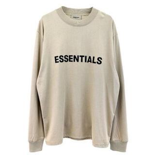 FEAR OF GOD - Sサイズ タン essentials long sleeve tシャツ