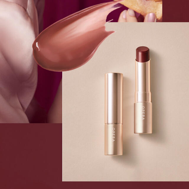 OPERA(オペラ)のOPERA オペラ リップ ティント オイルルージュ 口紅 ブラウンフィグ コスメ/美容のベースメイク/化粧品(口紅)の商品写真