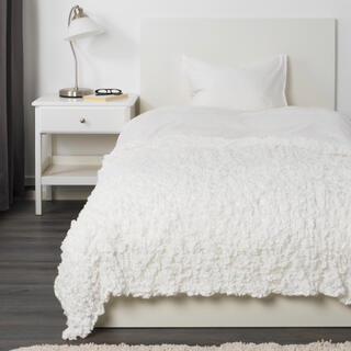 IKEA - IKEA イケア  オフェーリア 毛布  ホワイト  新品  130×170cm