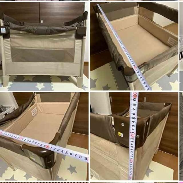 Aprica(アップリカ)のココネルエアー キッズ/ベビー/マタニティの寝具/家具(ベビーベッド)の商品写真