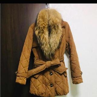 DURAS - ♡DURAS♡ファー付きキルティングコート♡