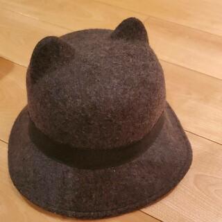 ザラ(ZARA)のおしゃれ ZARA  帽子 56cm 猫(帽子)