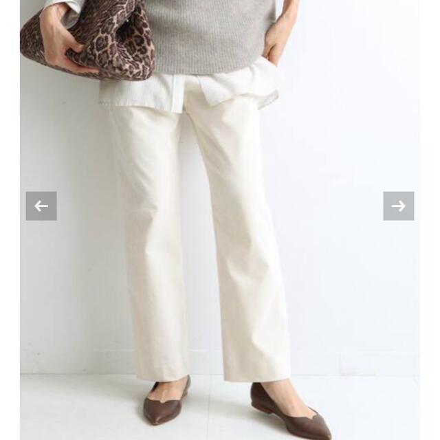 IENA(イエナ)の今季新品タグ付 イエナ 別珍ストレッチパンツ T36 レディースのパンツ(カジュアルパンツ)の商品写真