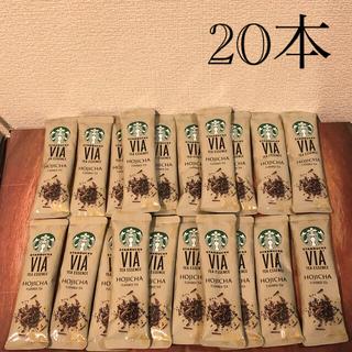 Starbucks Coffee - スターバックス VIA ティーエッセンス ほうじ茶 20本