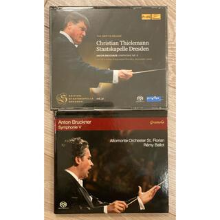 SACDハイブリッド ブルックナー交響曲5番&8番(クラシック)