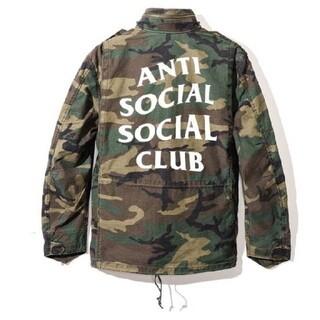 anti social social club defender jacket