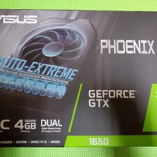 エイスース(ASUS)のPH-GTX1650-O4GD6-P PCIExp 4GB(PCパーツ)