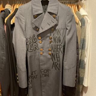 コムデギャルソンオムプリュス(COMME des GARCONS HOMME PLUS)のcomme des garcons homme plus 15ss ロングコート(ステンカラーコート)